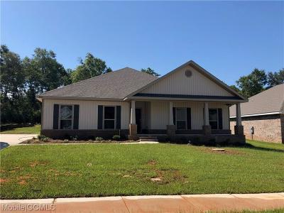 Mobile County Single Family Home For Sale: 10903 Sierra Estates Drive N