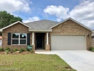 Semmes Single Family Home For Sale: 8136 Colleton Drive S
