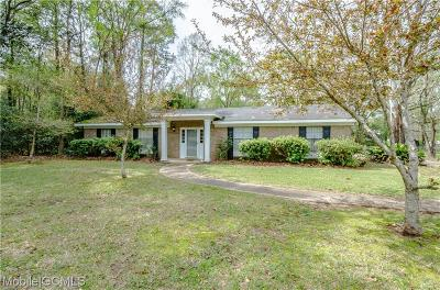Mobile Single Family Home For Sale: 1954 Navco Road