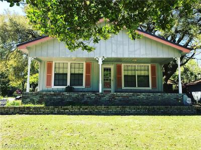Mobile Single Family Home For Sale: 3260 Pine Road