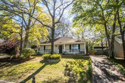 Mobile Single Family Home For Sale: 3013 Autumn Ridge Drive W