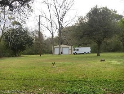 Mobile County Single Family Home For Sale: 5384 Hartley Road