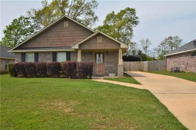 Mobile Single Family Home For Sale: 3320 Bloomington Drive