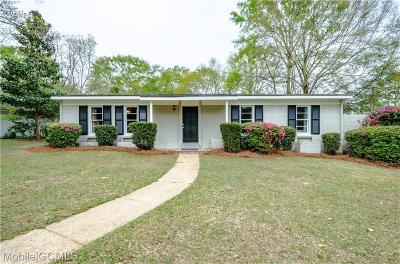 Mobile Single Family Home For Sale: 6304 Zeigler Boulevard