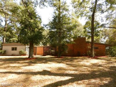 Mobile Single Family Home For Sale: 4103 Beacon Lane