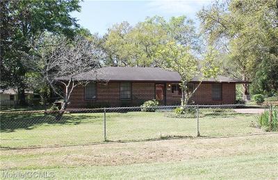 Mobile Single Family Home For Sale: 5070 Alton Street
