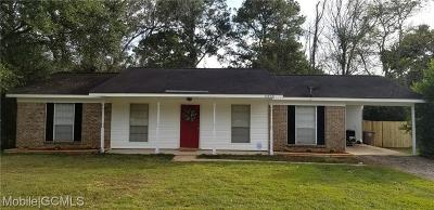 Mobile Single Family Home For Sale: 5355 Panorama Boulevard