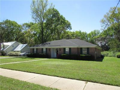 Mobile Single Family Home For Sale: 5871 Cansler Drive