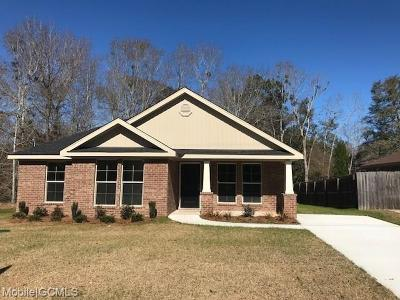 Semmes Single Family Home For Sale: 9600 Magnolia Cove Court