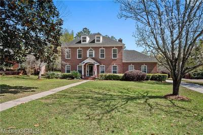 Mobile County Single Family Home For Sale: 7000 Charleston Oaks Drive N