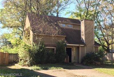 Mobile Single Family Home For Sale: 1000 McNeil Avenue