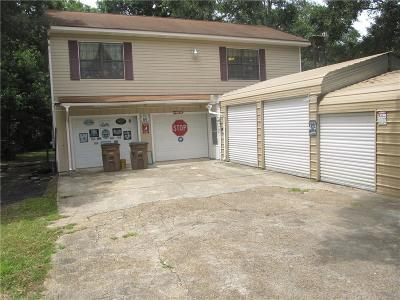 Mobile County Single Family Home For Sale: 2158 Gill Road