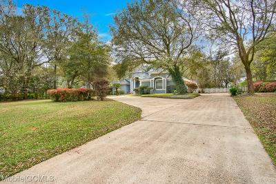 Mobile County Single Family Home For Sale: 8461 Goldmine Oaks Drive S