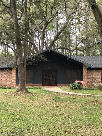 Mobile County Single Family Home For Sale: 332 Hummingbird Drive N