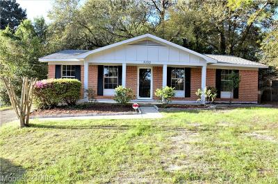 Mobile County Single Family Home For Sale: 5155 Ridgedale Road