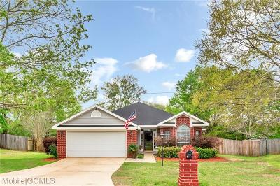 Single Family Home For Sale: 9810 Oak Forrest Drive