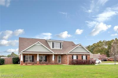 Semmes Single Family Home For Sale: 3395 Brooklyns Way E