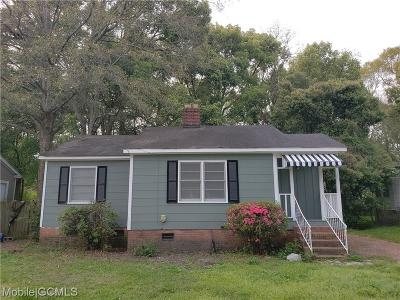 Mobile Single Family Home For Sale: 200 Morgan Avenue