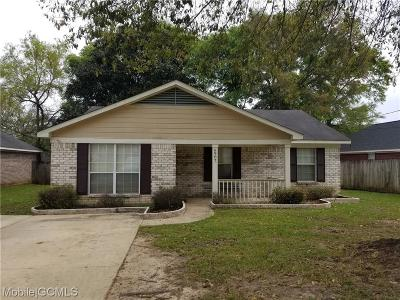 Mobile County Single Family Home For Sale: 6907 Magnolia Trace