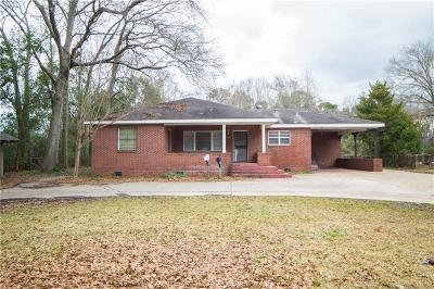 Mobile Single Family Home For Sale: 2566 Pleasant Valley Road