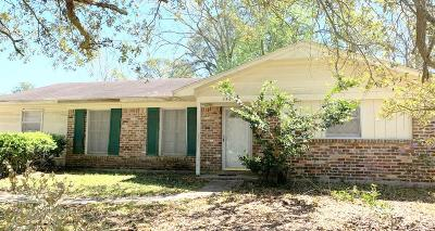 Mobile Single Family Home For Sale: 3901 Prima Vera Lane