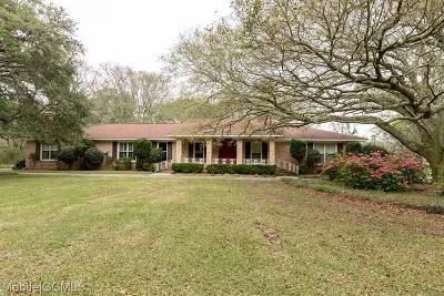 Bayou La Batre Single Family Home For Sale: 14301 Wintzell Avenue
