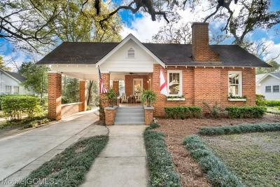 Mobile County Single Family Home For Sale: 117 Westwood Street