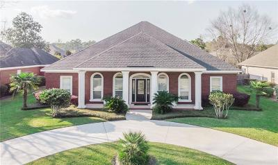 Mobile County Single Family Home For Sale: 1165 Heron Lakes Circle