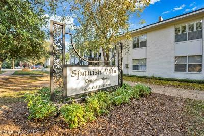 Mobile County Condo/Townhouse For Sale: 4009 Old Shell Road #C21