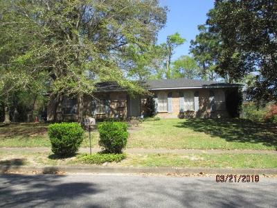Mobile Single Family Home For Sale: 6128 Palomino Drive
