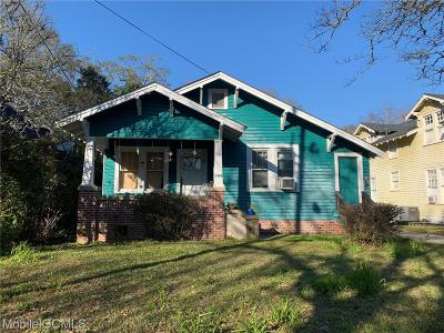 Mobile Multi Family Home For Sale: 1320 Azalea Street