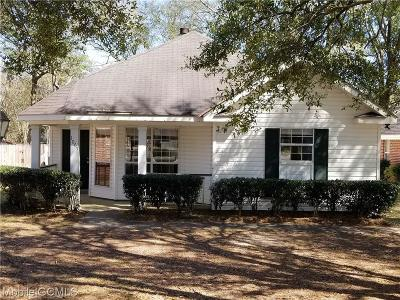 Mobile County Single Family Home For Sale: 1065 Wesley Avenue