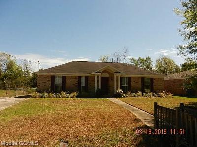 Mobile County Single Family Home For Sale: 7603 Willard Drive W