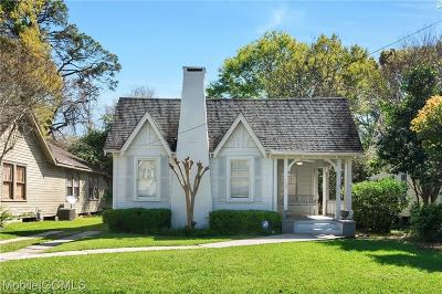 Mobile County Single Family Home For Sale: 13 Mohawk Street