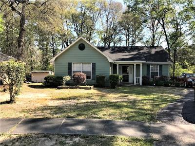 Mobile Single Family Home For Sale: 6605 Oak Point Circle