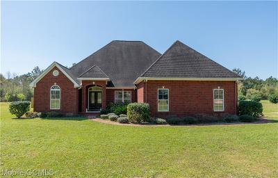 Grand Bay Single Family Home For Sale: 7471 Evans Road