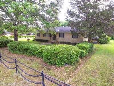 Mobile Single Family Home For Sale: 3511 Wyndham Road
