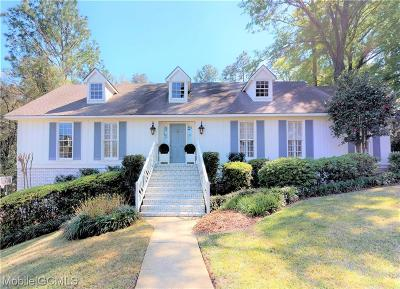 Mobile County Single Family Home For Sale: 4813 Pine Court