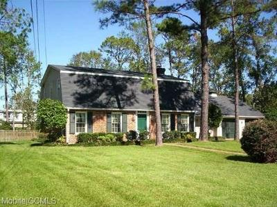 Mobile Single Family Home For Sale: 3754 Amruth Drive