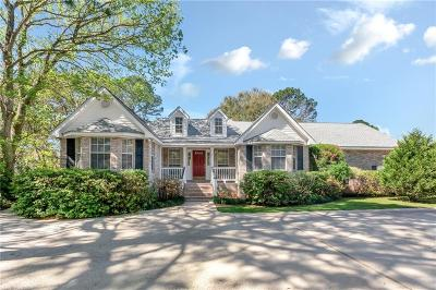 Mobile Single Family Home For Sale: 2522 Daniels Road