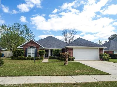 Mobile County Single Family Home For Sale: 2201 Cresting Court