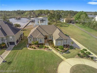 Mobile County Single Family Home For Sale: 5632 Gulf Creek Circle