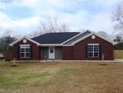 Theodore Single Family Home For Sale: 6058 Creel Road