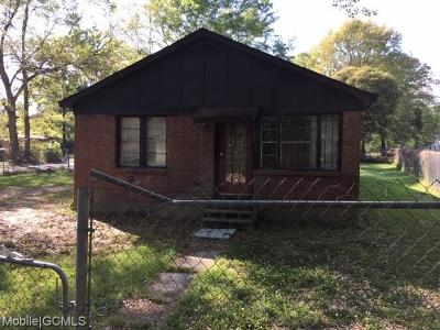 Theodore Single Family Home For Sale: 7090 Mobile Street
