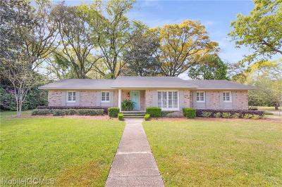 Mobile Single Family Home For Sale: 2 Schwaemmle Drive