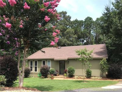 Baldwin County Single Family Home For Sale: 110 Bradbury Circle N