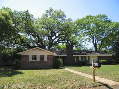 Mobile County Single Family Home For Sale: 5967 Sunnyside Drive