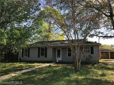 Theodore Single Family Home For Sale: 8501 McAllister Drive
