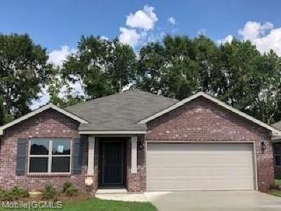 Semmes Single Family Home For Sale: 1296 Colleton Drive E