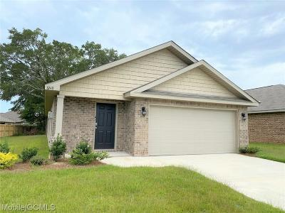 Semmes Single Family Home For Sale: 8148 Colleton Drive S